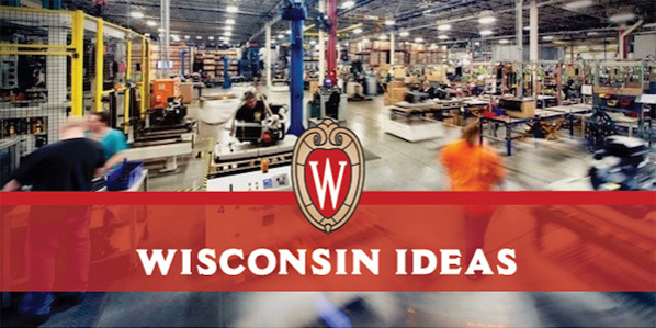 The Wisconsin Ideas Newsletter banner.